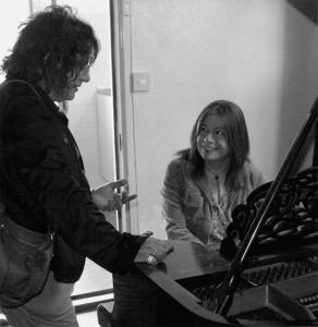 Vicky & Di at RMS studios London